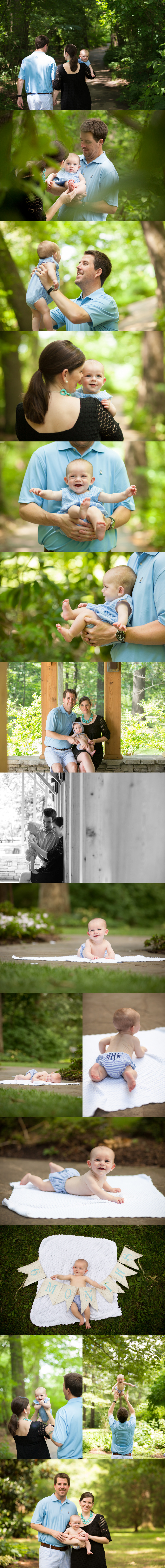 Memphis Botanic Gardens Family Session